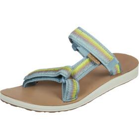 Teva Universal Slide Ombre Sandaler Damer, beige/turkis